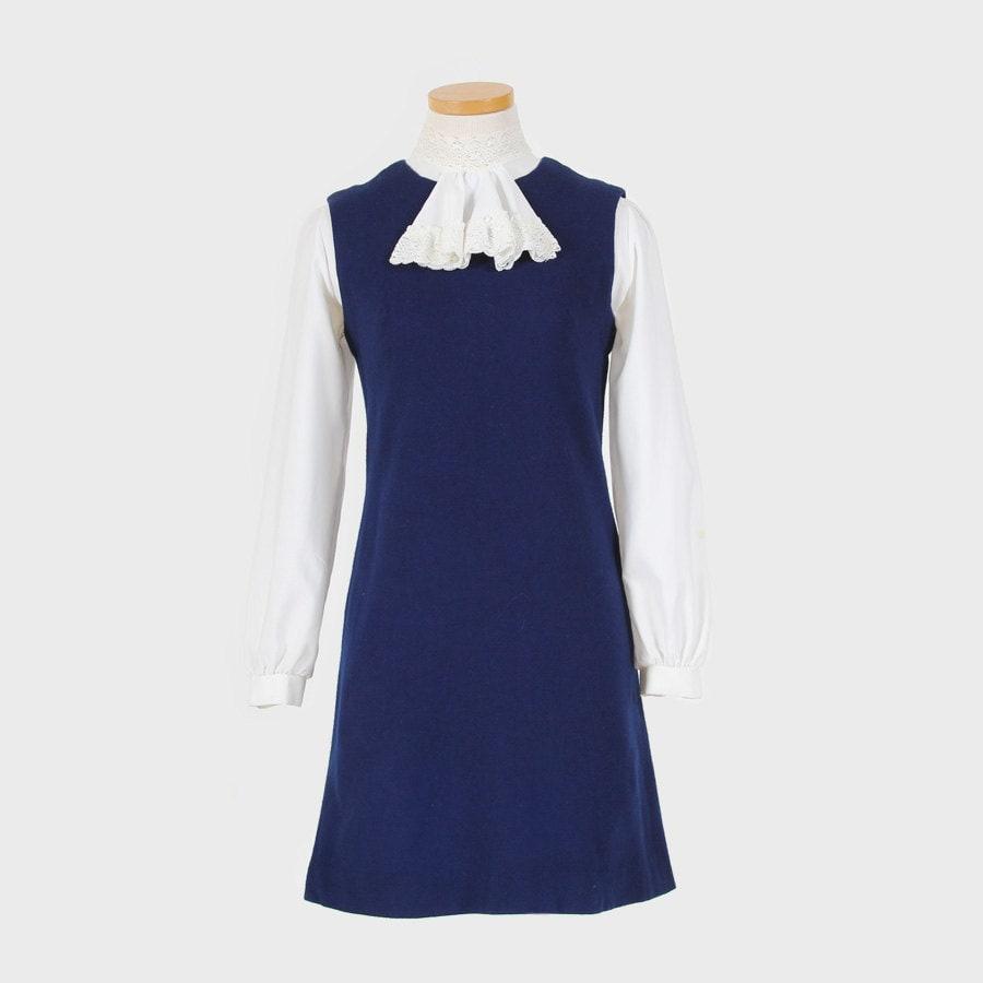 Navy Blue Jumper Dress size small/medium
