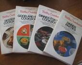 Vintage Betty Crockers Cookbooks Set of 4  SALE