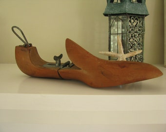 Vintage Wooden Shoe Form
