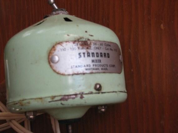 Vintage Standard Mixer  Vintage Bar Ware SALE