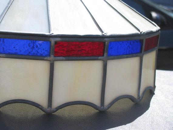 SALE  Vintage Handmade Tiffany Style Shade---Light.  SALE