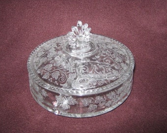 Antique Covered Dish Fostoria