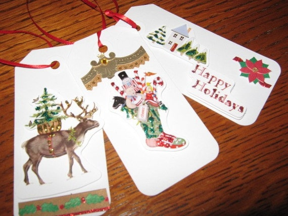 Christmas Gift Tags Christmas in July Sale