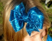 Fabulous Glitter Hair Bow 3 colors available
