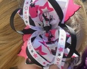 ROCKSTAR Boutique Stacked Hair Bow