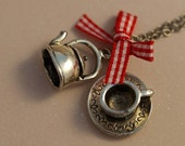 Coffee or Tea - Necklace