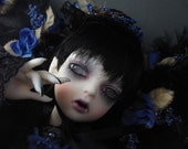 12 x 16 inch Gothic Doll canvas print - Dysautonomia