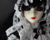 Lizzy the Gothic Victorian Ball Joint Doll SD size