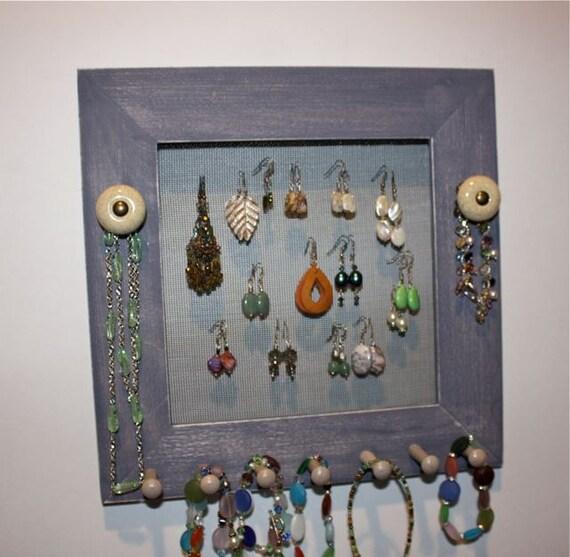 Plum Jewelry Frame Holder Screen Frame.