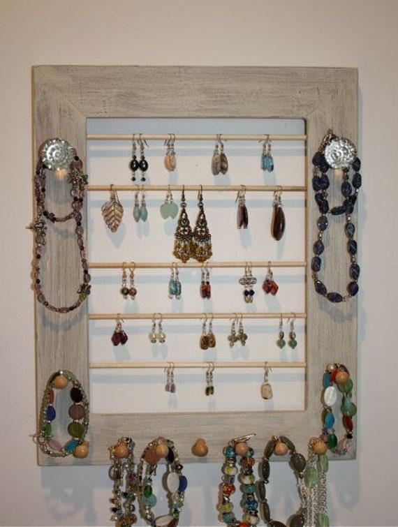 Jewelry Frame Display - Earring Organizer.