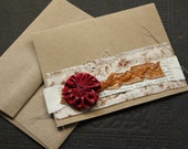 Autumn colors all occasion blank greeting card
