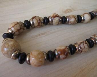 Tiger Coral Necklace