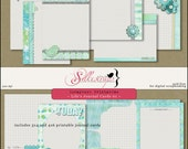 Printable Scrapbook Cards LIFE'S JOURNAL 01  for card making, scrapbooking, mailing - Project Life