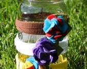 multi-toned petite hydrangea headband - you choose colors
