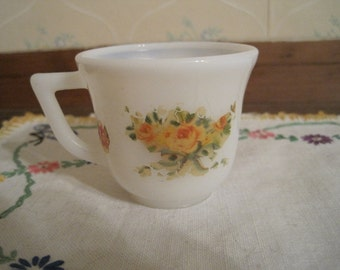 Hazel Atlas Demitasse Cup with Decal