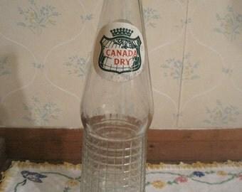 Vintage Canada Dry Bottle