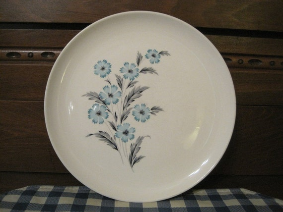 Blue Bonnet Plate by Taylor, Smith  and Taylor