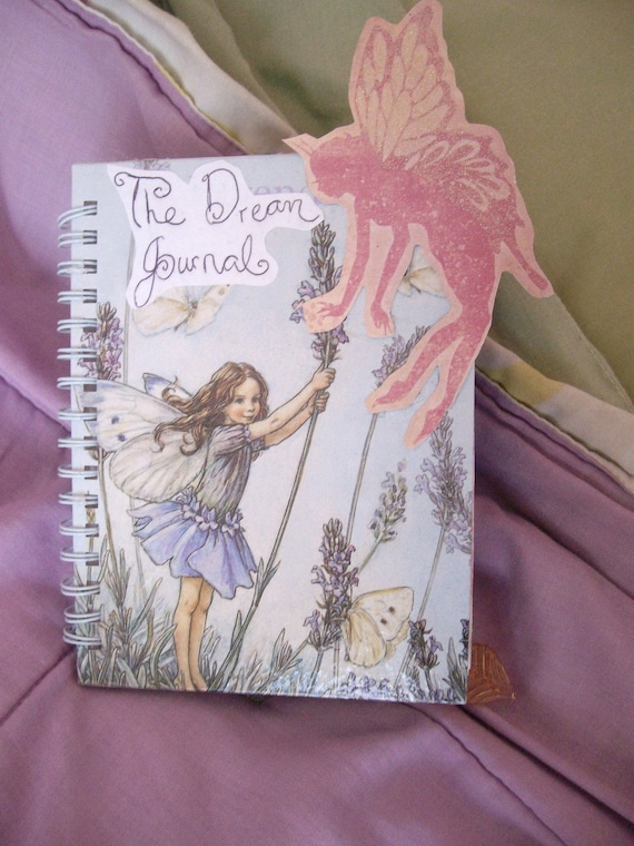 Altered Book Art Notebook, Victorian Shabby Chic, The Dream Journal