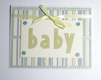 Baby Boy Handmade Card