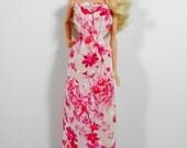 Pink Dress Doll Clothes Barbie Dynamite Girls Fashion Royalty Liv 1:6 Momoko