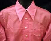 Vintage Never Worn Pink Men's Shirt