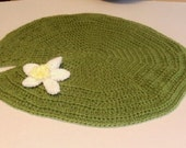 Lily Pad photo prop blanket / 30 inch