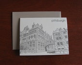 Allegheny County Courthouse - Pittsburgh Letterpress Notecard