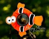 Lens Bling - Clown Fish - Ready to Ship