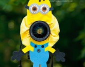 Lens Bling - Minion with Squeaker