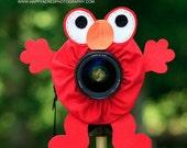 Lens Bling - Elmo - Ready to Ship