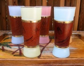 Siestaware Tiki Glasses--- Set of 5
