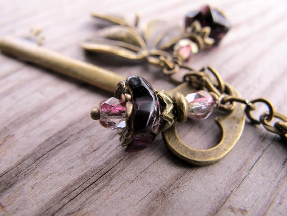 The Key to the Orchard Gate Necklace