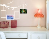 Picture Frame Tree Branch - Vinyl Wall Decal 1111