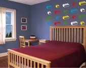 Lego Inspired Bricks Wall Decal - preselected colours