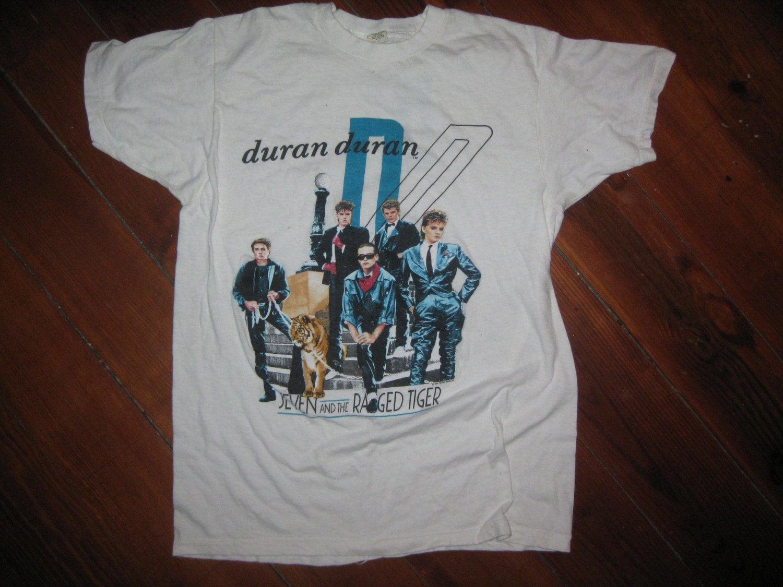 Vintage duran duran t shirt 39 84 new wave for Built for war shirt