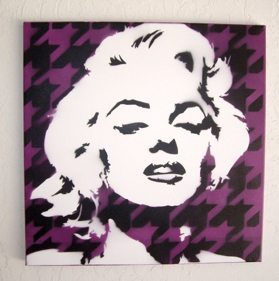 Marilyn Monroe Dress Stencil Pictures to Pin on Pinterest ...