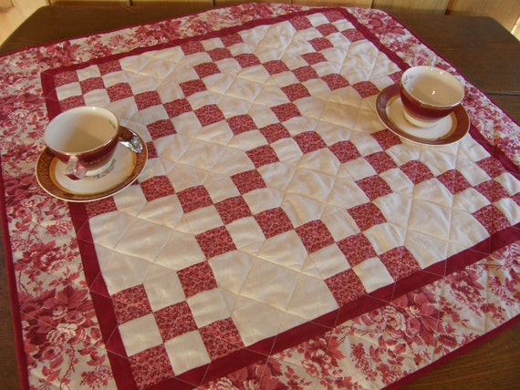 Reserved for Susan...Quilted Table Topper