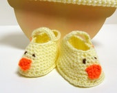 Just Ducky Bitty Booties and Beanies