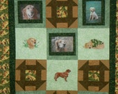 Custom My Dog -  Custom Order Quilt featuring your pet