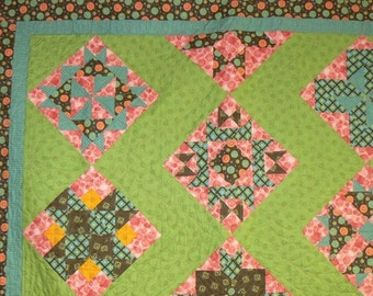 Ice Cream Parlor** - Twin Size Sampler Quilt
