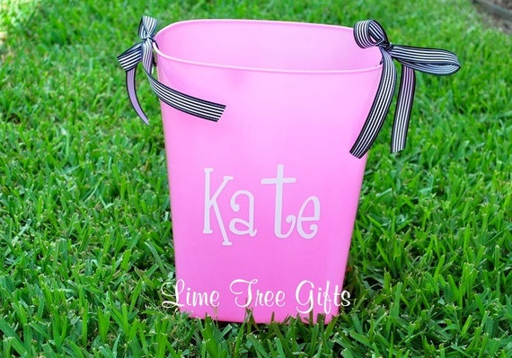 Personalized Trash Can