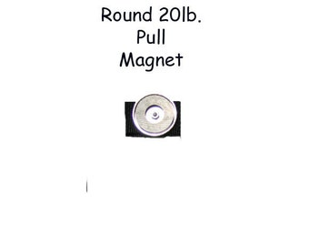 Shop Magnet 20 pound pull round magnet for HipNotions Tool Belts