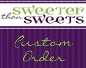 """Custom Onesie - Letter """"D"""" with Bow - size 24 months - RESERVED for Kortney"""
