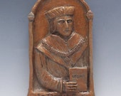 St. Thomas More Handmade Statue: Patron of Lawyers and Law Students