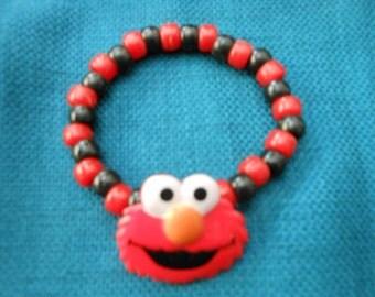 8 - Kandi Elmo Bracelet - Party favor