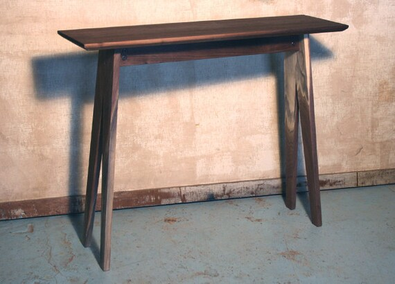 Made To Order - Walnut Console / Entry / Hall Table