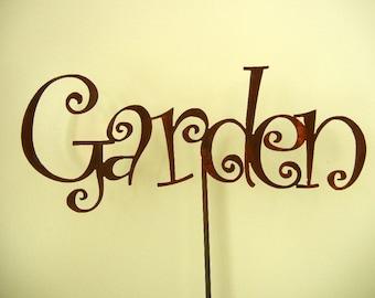 Garden, Metal Garden Stake