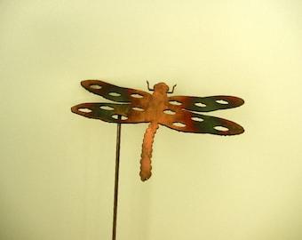Dragon Fly (Small), Metal Garden Stake