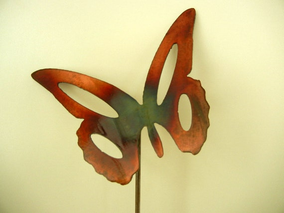 Butterfly  (Small), Metal Garden Stake