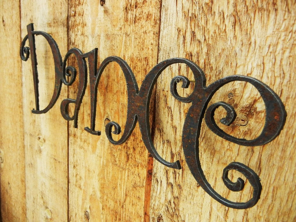 Awesome Metal Word Art For Walls Frieze - The Wall Art Decorations ...